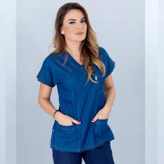Single Upper Medijean Dr. Greys Model (Real Denim Fabric)
