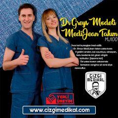 Medijean Dr Greys Model Suit (Real Denim Fabric)