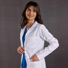 Female Doctor Classic Collar Visiting Apron (Alpaca Fabric)