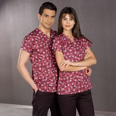 Dr. Greys Model Printed Scrubs Uniforms