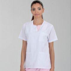 W-neck Single Top (Alpaca Fabric)