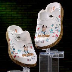 Men's Vivacolor Profession Themed Sabo Slippers