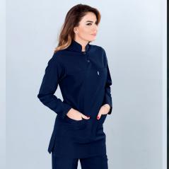 Judge Collar Hijab Suit (Tericoton Fabric)