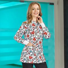 Long Sleeve Jacket (Comfort Cotton)