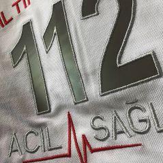 Female/Male 112 Emergency Medical Technician Long Sleeved T-Shirt