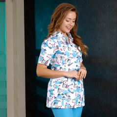 Dentist Surgical Suit (Alpaca Fabric)