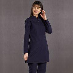 Lycra Hijab Judge Collar Set