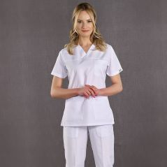 Surgical Lined Trousers (White)