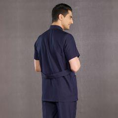 Men's Judge Collar Suit (Alpaca Fabric)