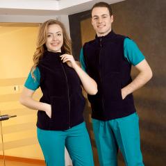 Women/Men Fleece Vest