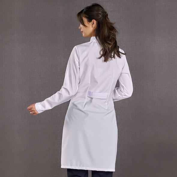 Female Doctor Judge Collar Visiting Apron (Alpaca Fabric)
