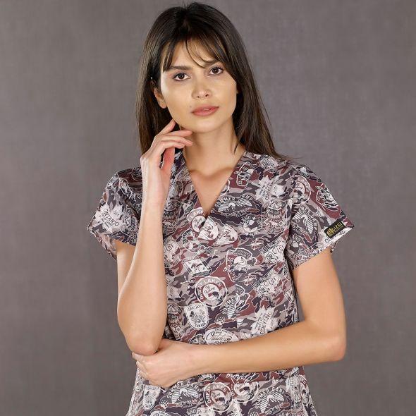 Patterned Lycra Dr. Greys Suits