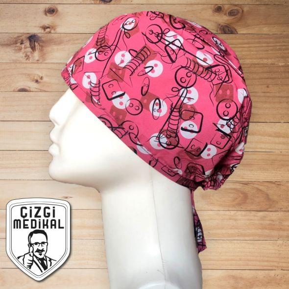 Patterned Cotton Caps