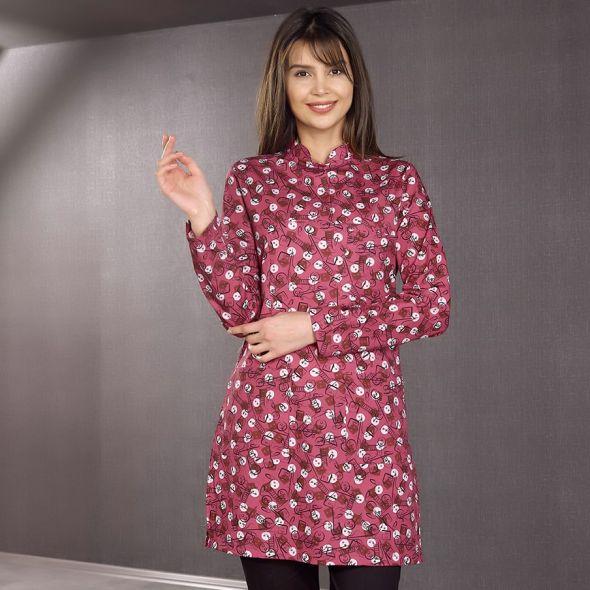 Single Top Patterned Hijab Nurse Shirt