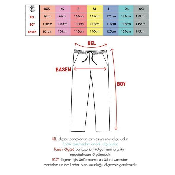 Patterned Dr.Greys Scrubs Suit